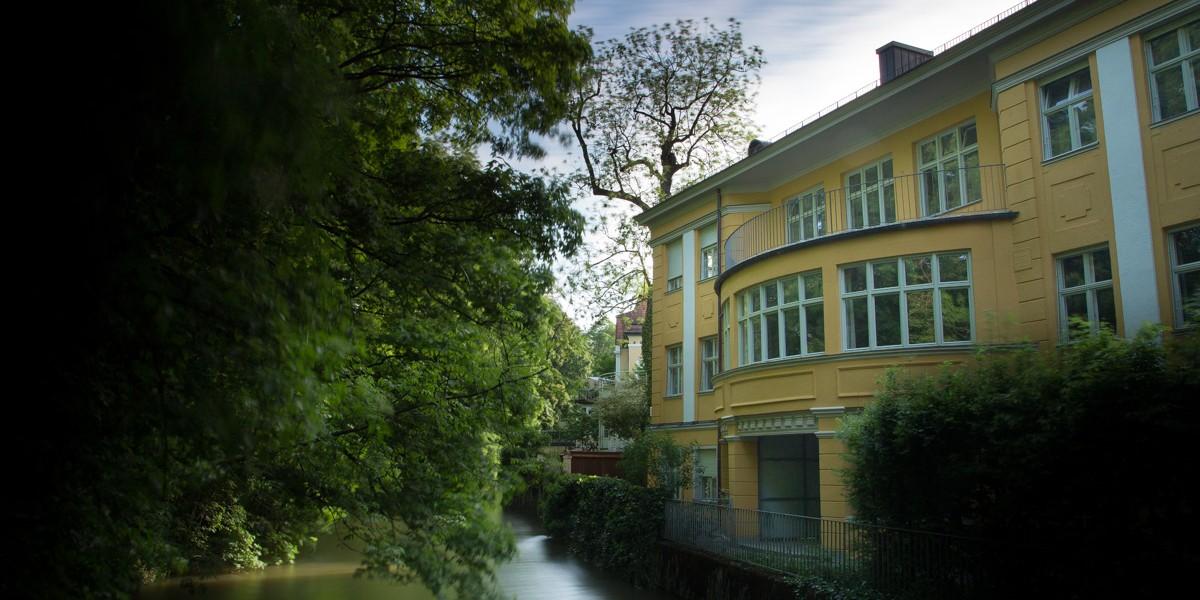 L'entrée De L'Englischen Garten à Munich