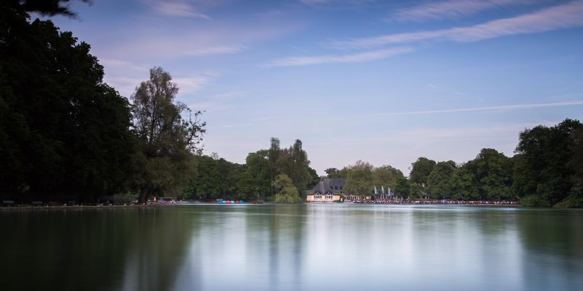 Lac Dans L'Englischen Garten à Munich