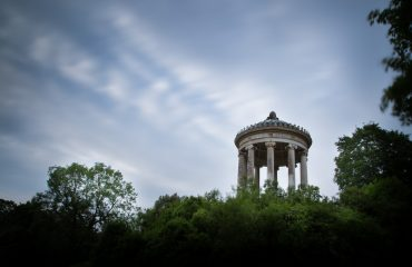 Le Monoptère Dans L'Englischen Garten à Munich