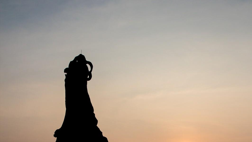 La Statue De Matsu à Tainan