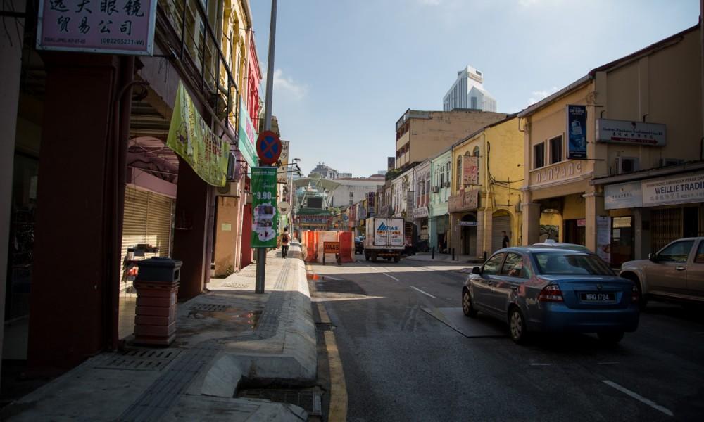 Rue Annexe Dans Le Chinatown à Kuala Lumpur