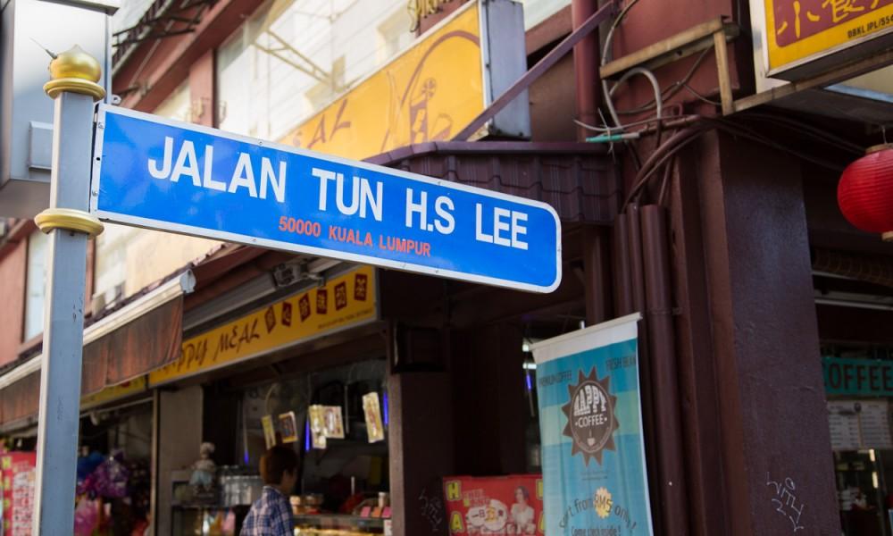 Jalan Tun Street à Kuala Lumpur