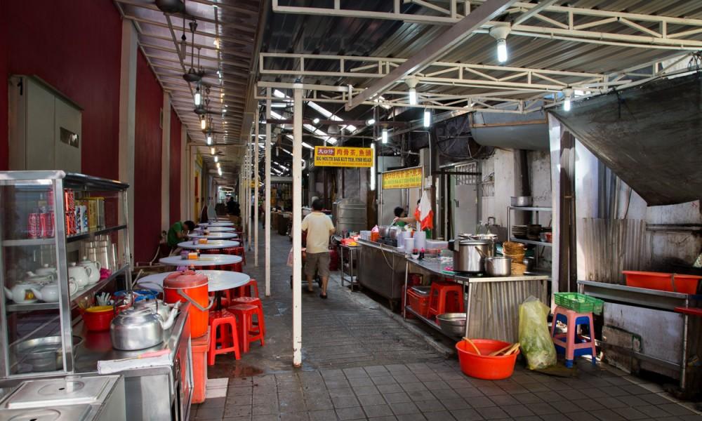 Entrée D'une Rue Du Chinatown à Kuala Lumpur
