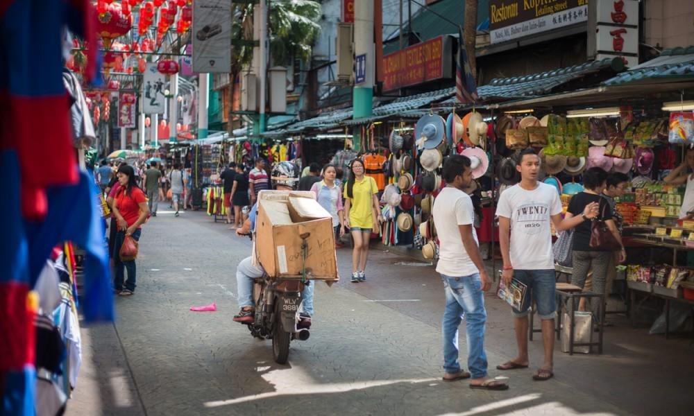 Le Chinatown à Kuala Lumpur