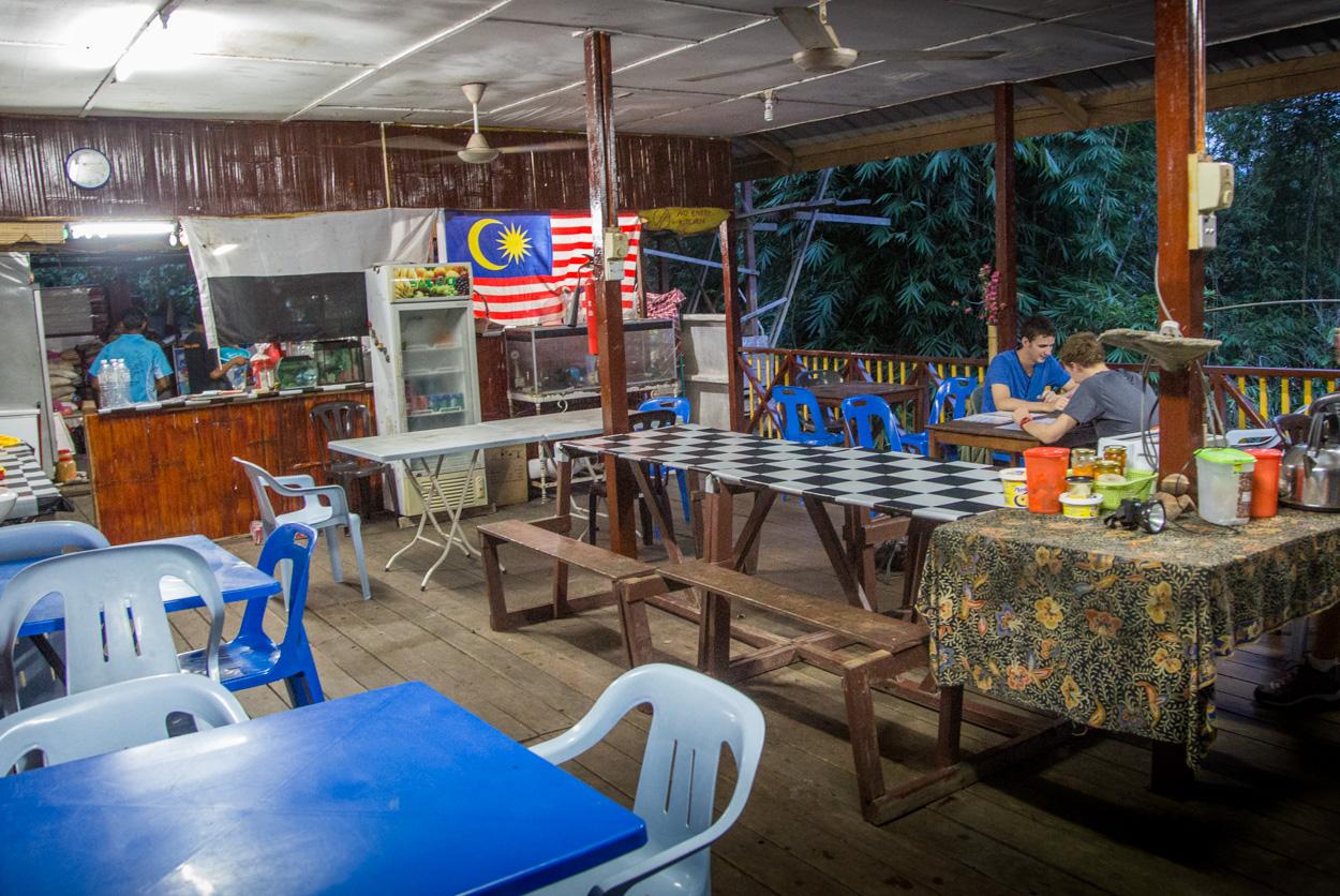 Restaurant Chez Matleon à Taman Negara