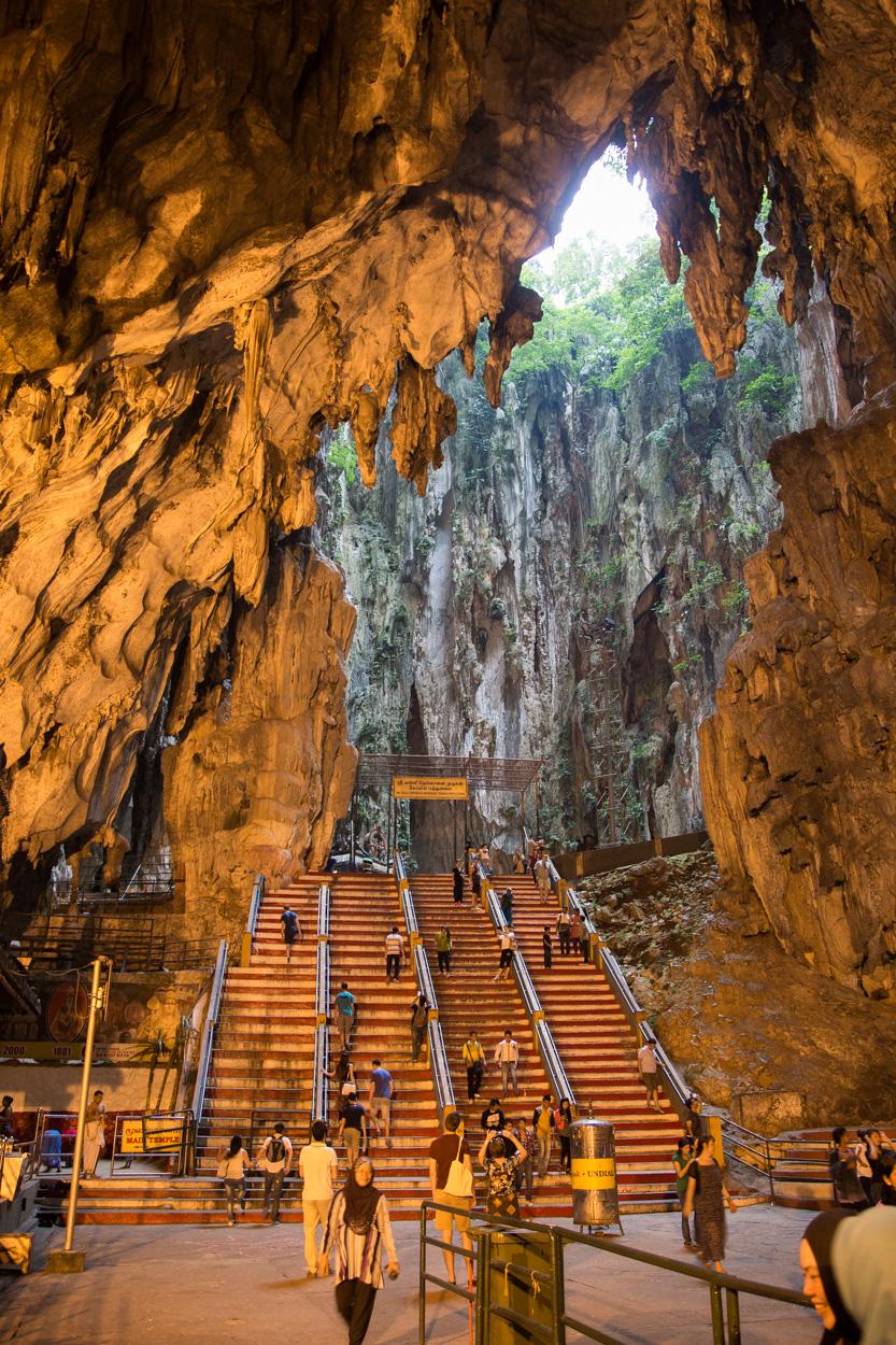 L'intérieur Des Grottes De Batu