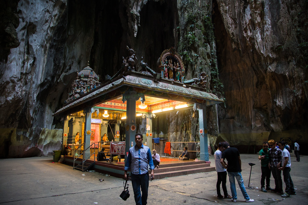 Le Temple De Muragan, à L'intérieur Des Grottes De Batu