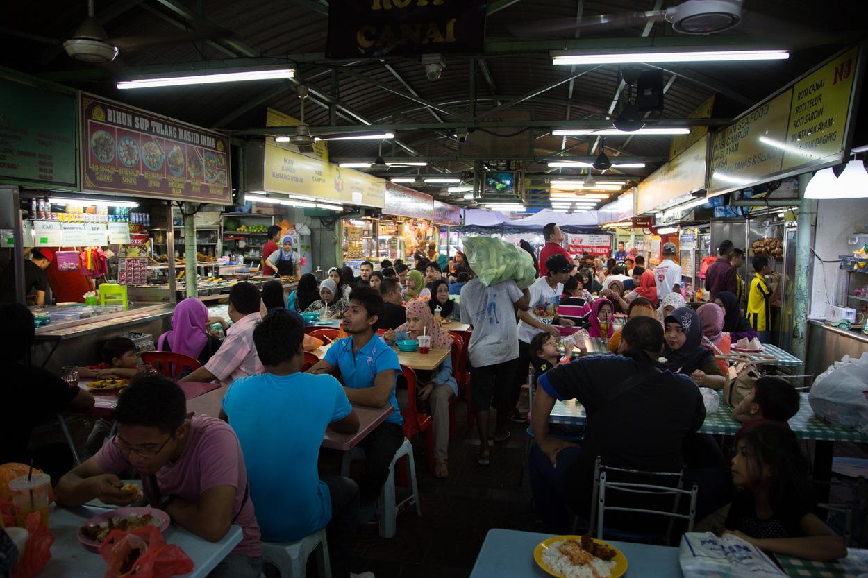 Restaurant Dans Le Little India à Kuala Lumpu