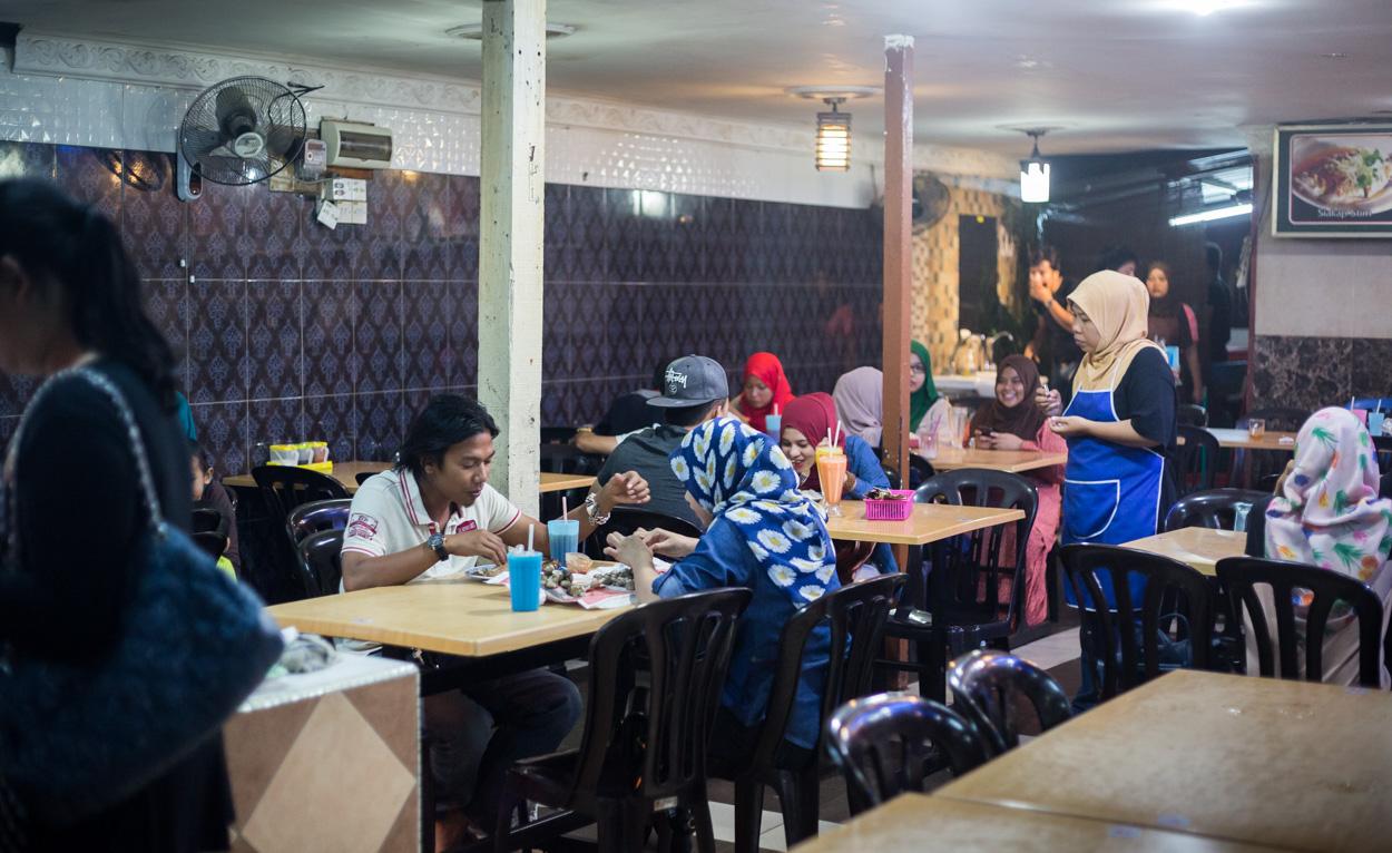 Restaurant Typiquement Malais à Kuala Lumpur