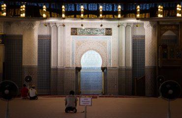 La Mosquée Nationale à Kuala Lumpur