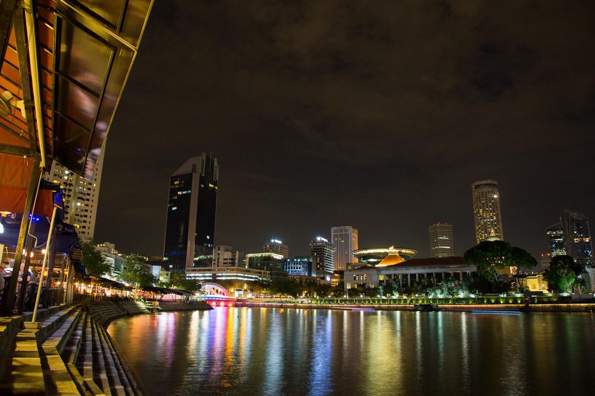 Boat Quay à Singapour