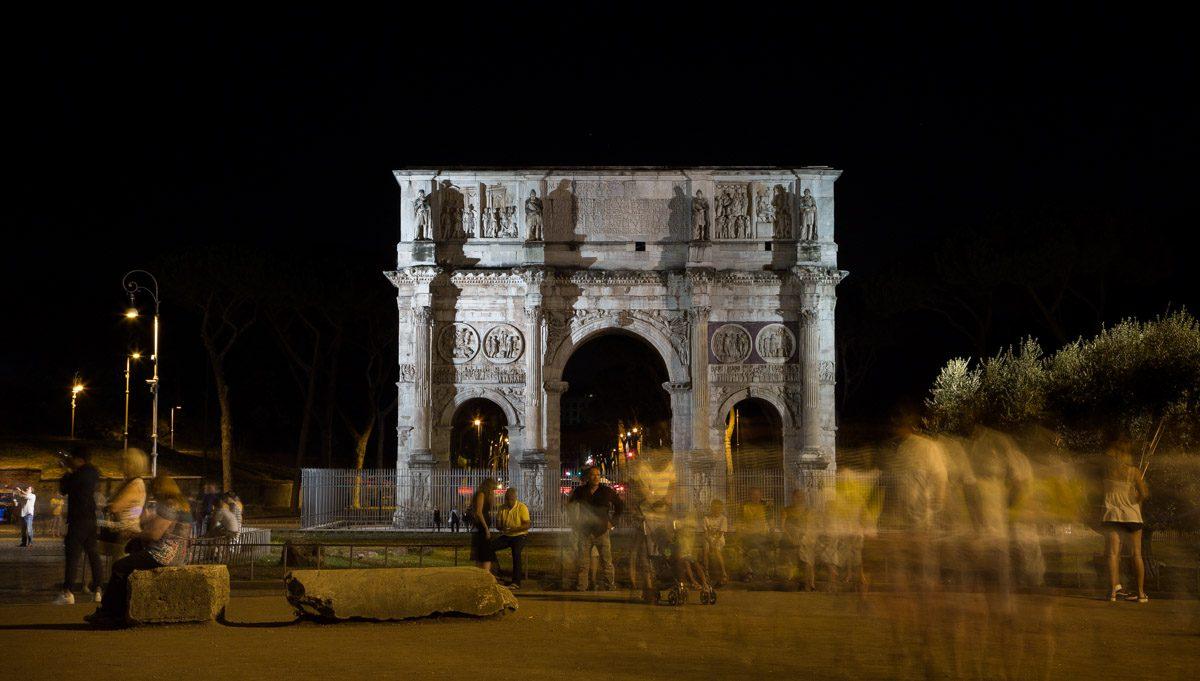 L'Arc De Constantin à Rome