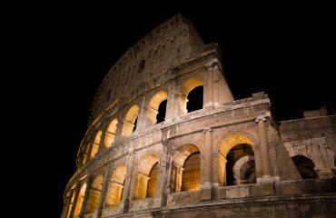 Le Colisée De Nuit