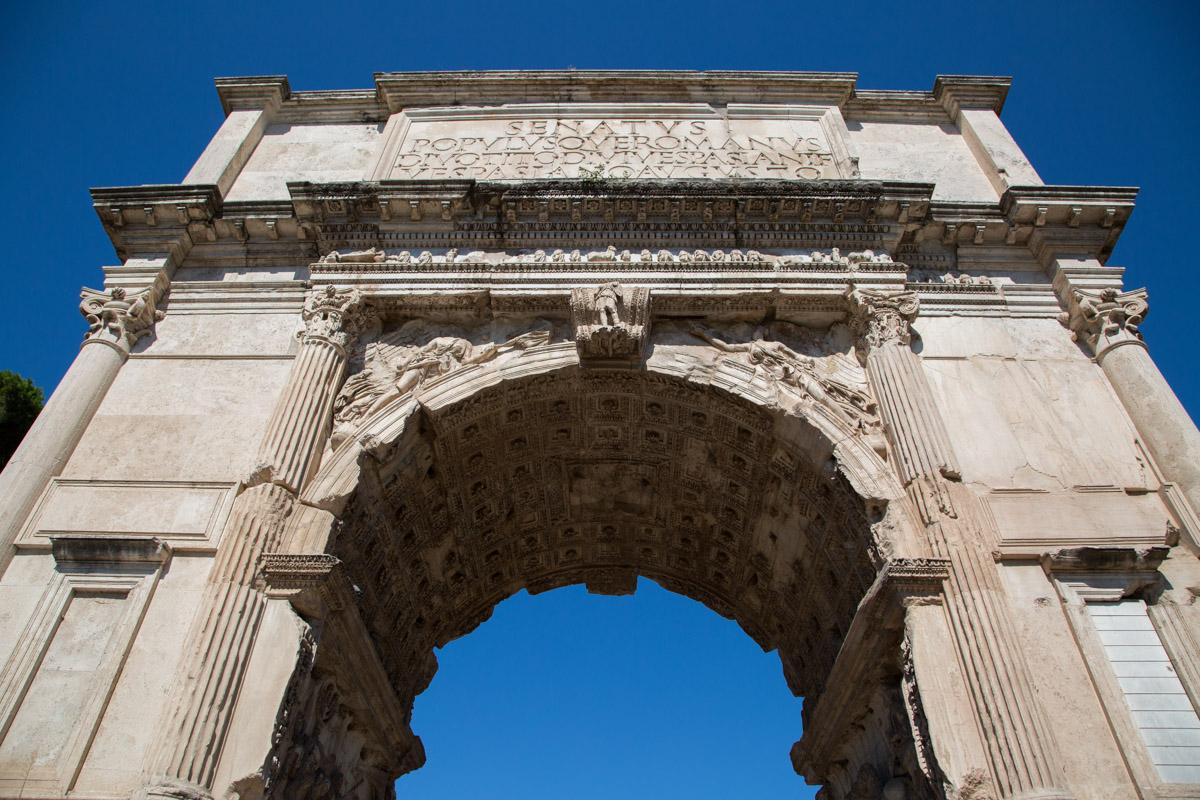 L'Arc De Titus à Rome