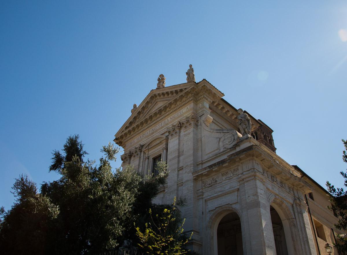 Basilique Santa Francesca Romana à Rome