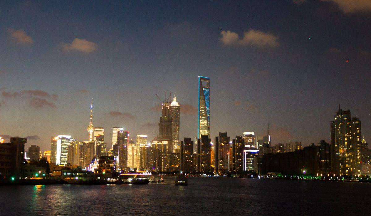 Vue Sur Pudong à Shanghai