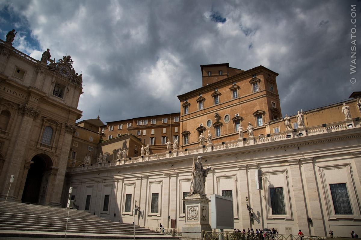 Vatican - Le Palais Apostolique