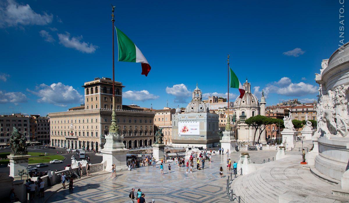 Italie - Le Monument à Victor-Emmanuel II