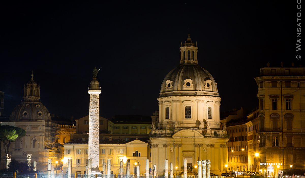 Italie - La Colonnade Trajane à Rome