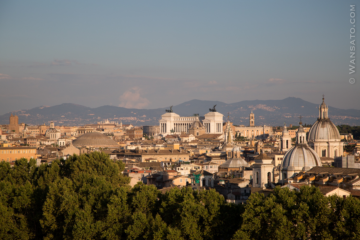 Italie - Château Saint Ange à Rome