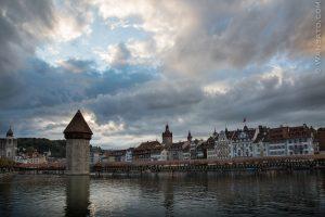 Suisse - Le Lac Des Quatre Cantons à Lucerne