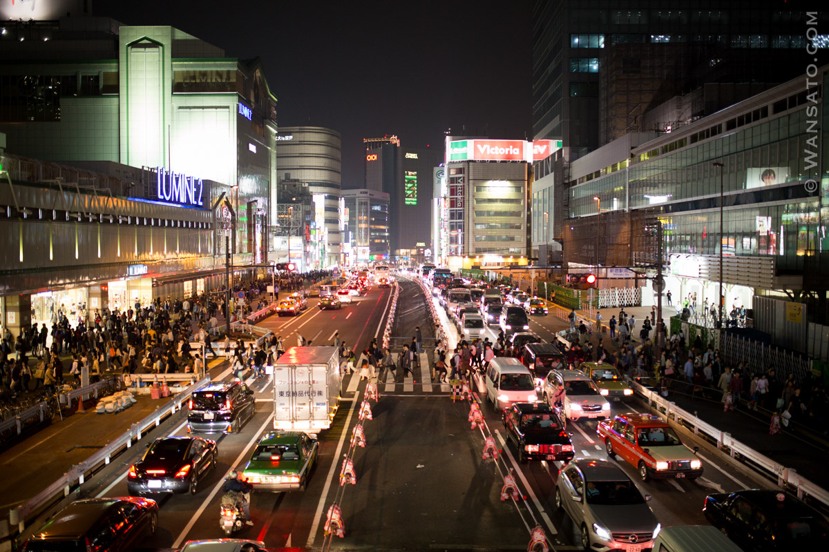 Japon – Atterrissage à Tokyo – Shinjuku
