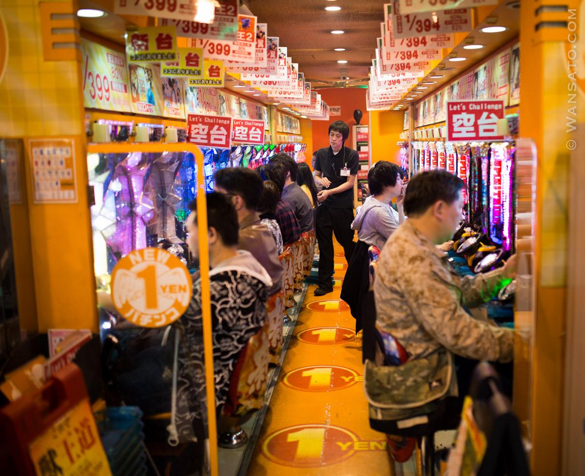 Japon - Salle De Jeux à Tokyo