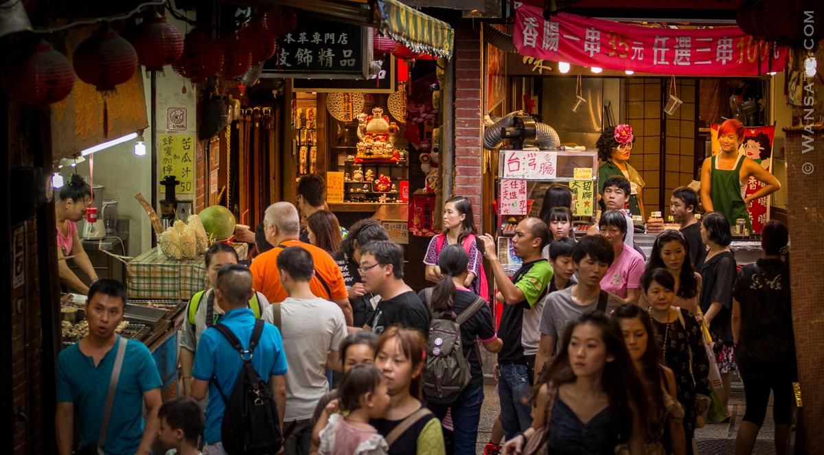 Taiwan – Au Coeur De La Ville De Jiufen