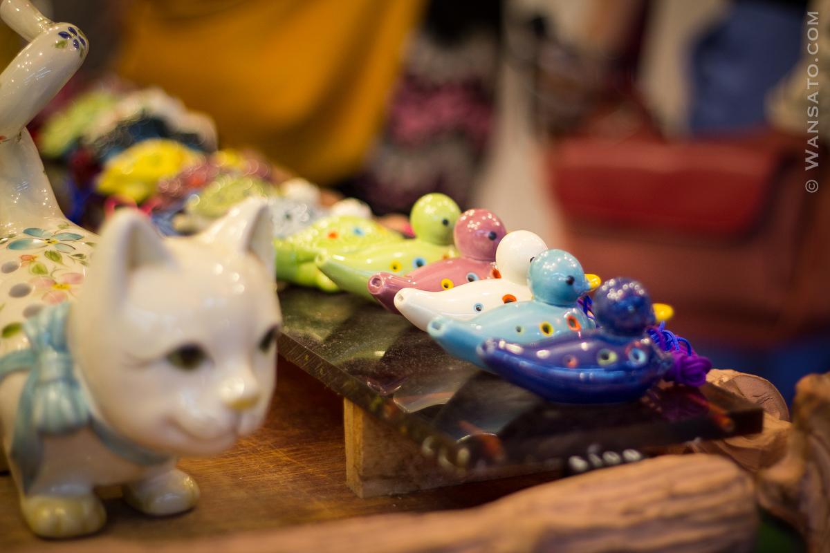 Taiwan - Boutiques à Jiufen