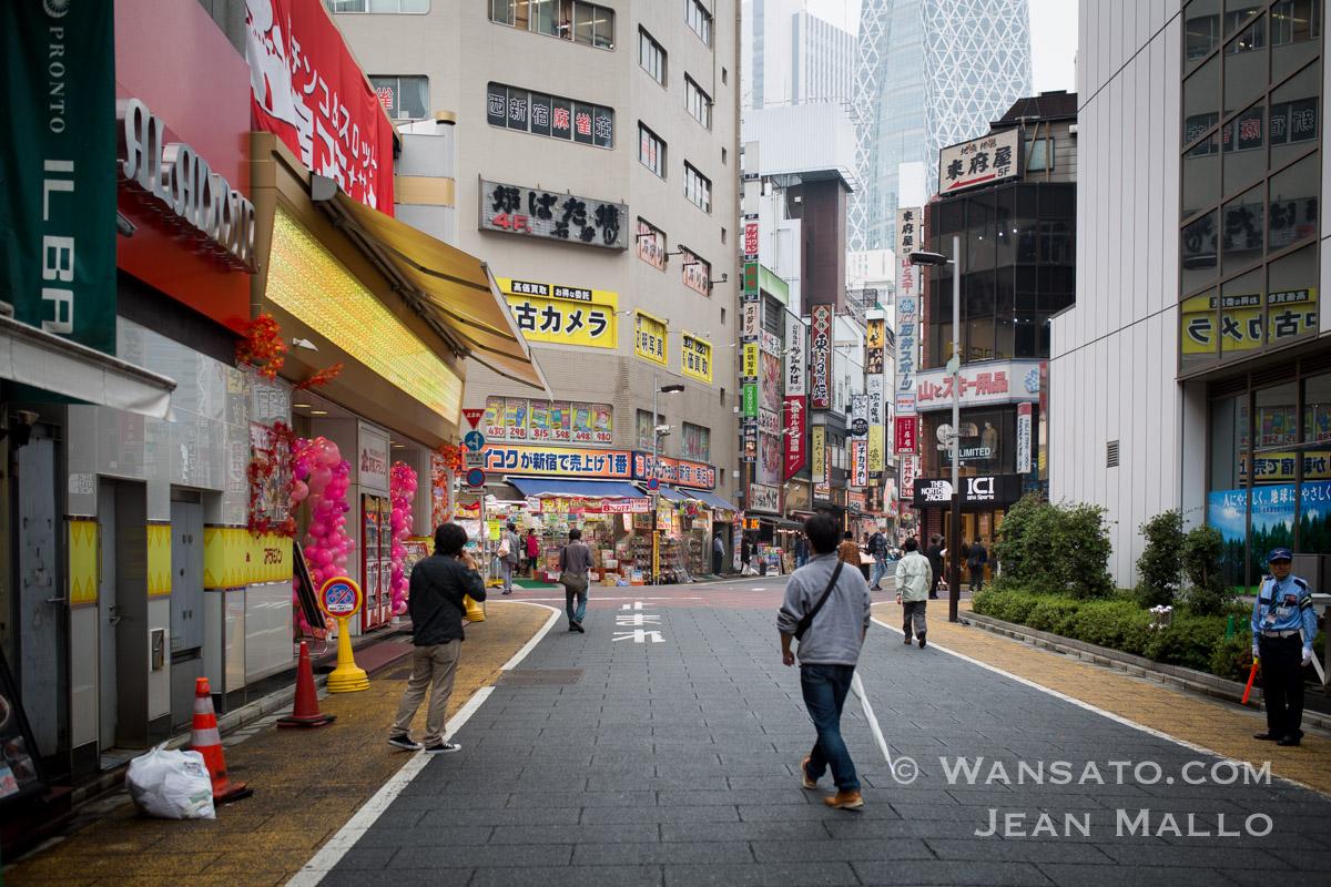 Japon - Rue Près De Shinjuku à Tokyo