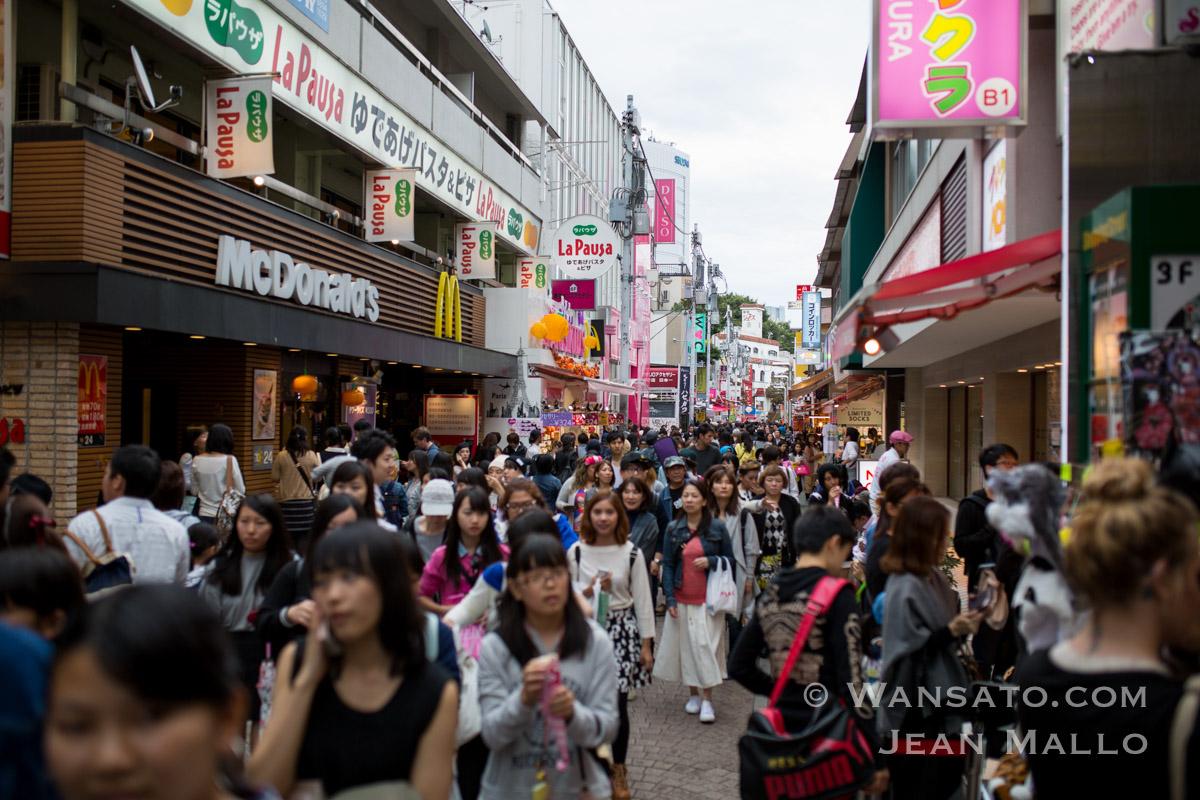 Japon - La Rue Takeshita-dōri à Tokyo