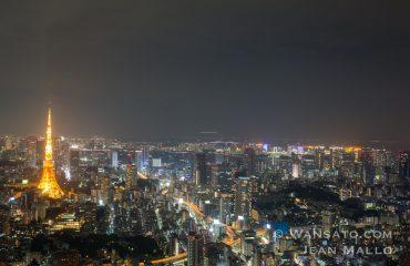 Japon – La Tokyo Tower Vue Depuis La Mori Tower