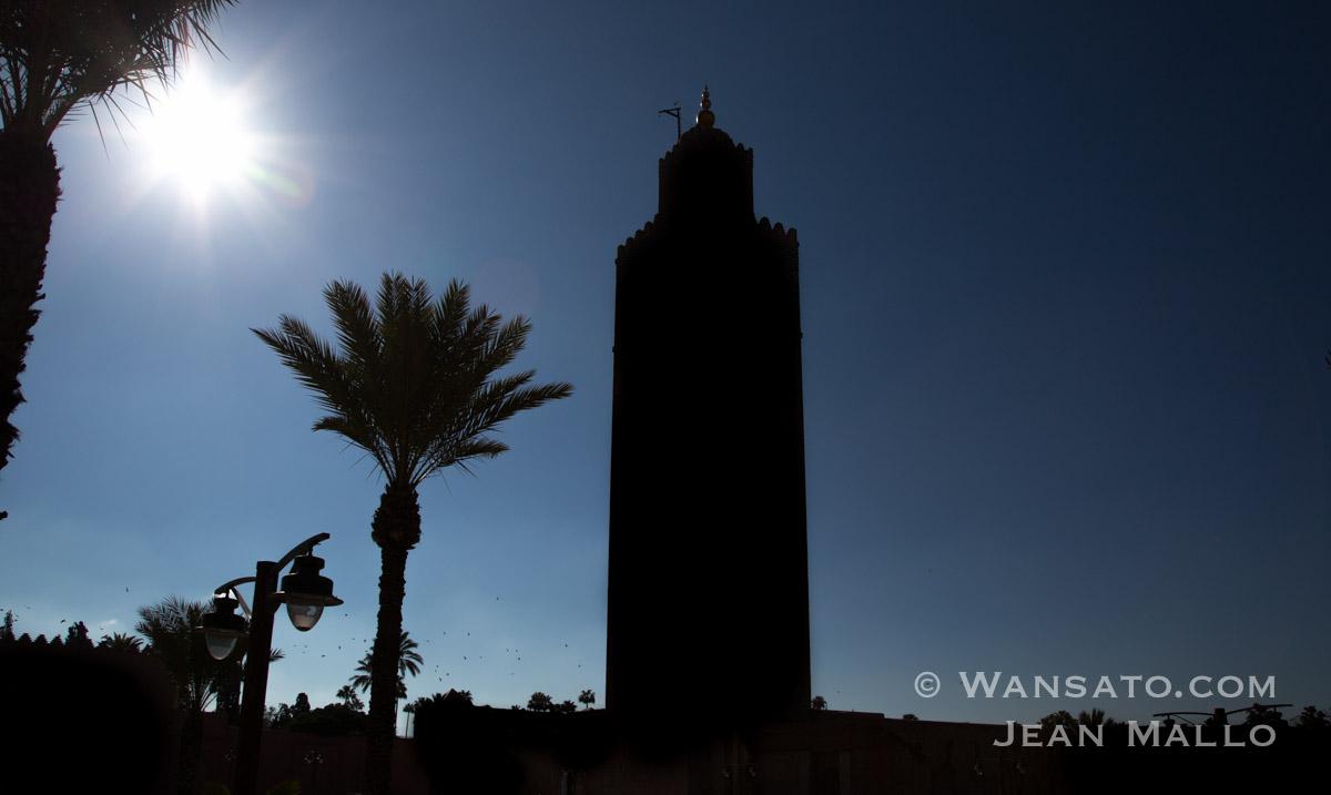 Maroc - La Mosquée Koutoubia à Marrakech