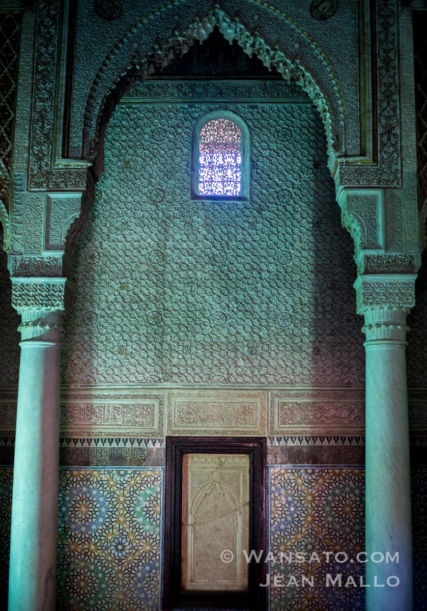 Maroc - Les Tombeaux Saadiens à Marrakech