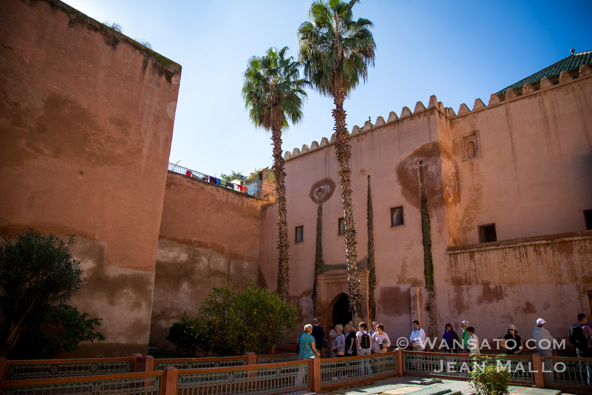 Maroc - Les Tombeaux Saadiens
