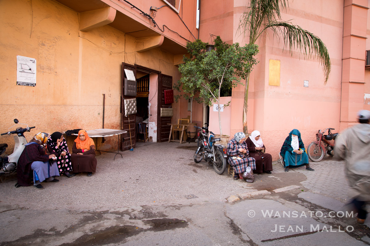 Maroc – Dans Les Rues De Marrakech