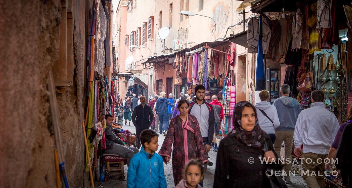 Maroc – La Médina De Marrakech