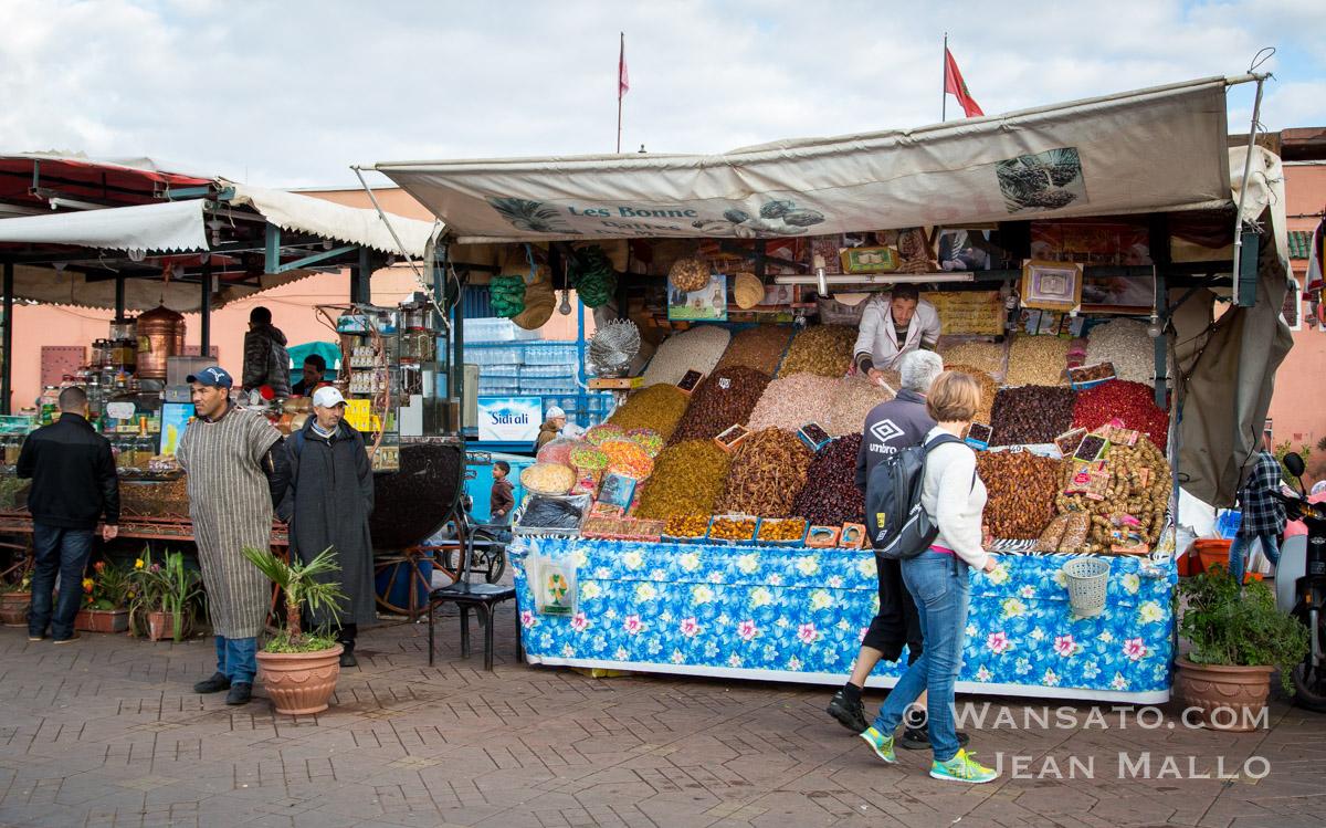 Maroc - La Place Jemaa El Fna