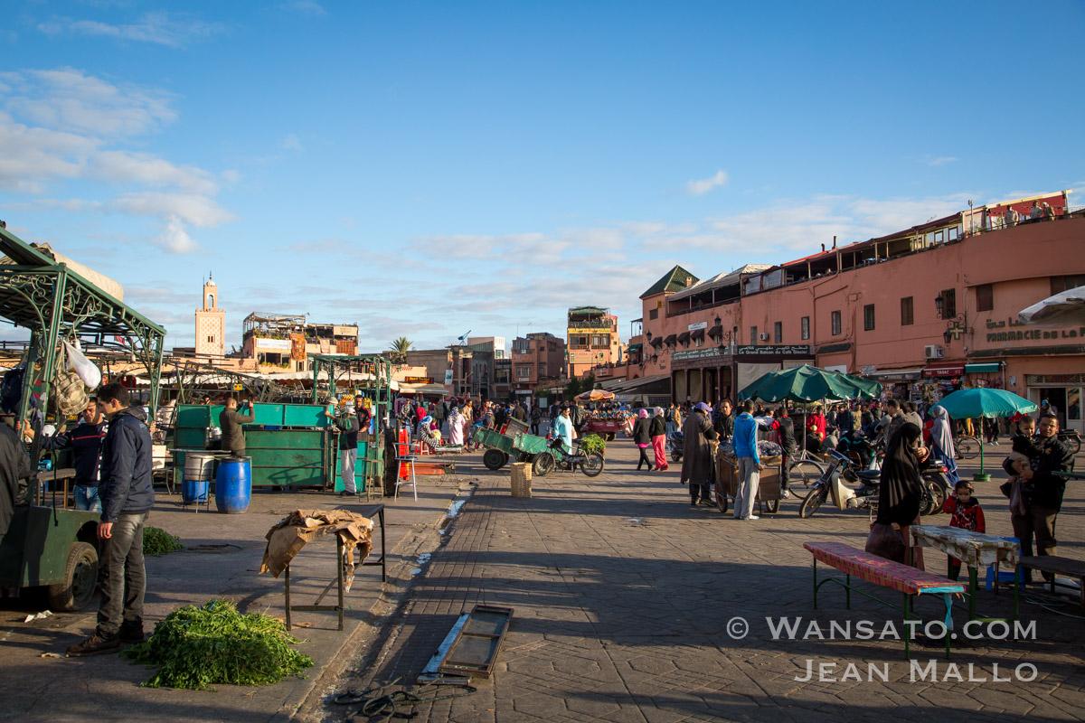 Maroc – La Place Jemaa El Fna