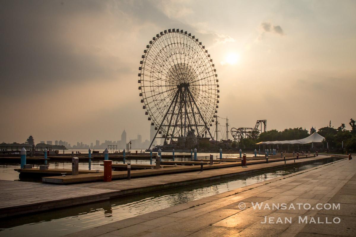 Chine - La Grande Roue à Suzhou