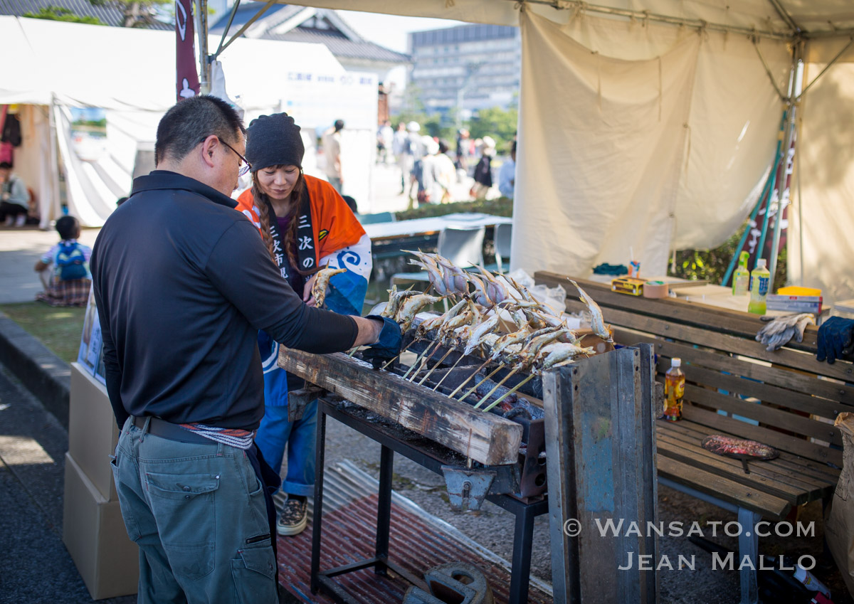 Japon - Le Food Festival à Hiroshima