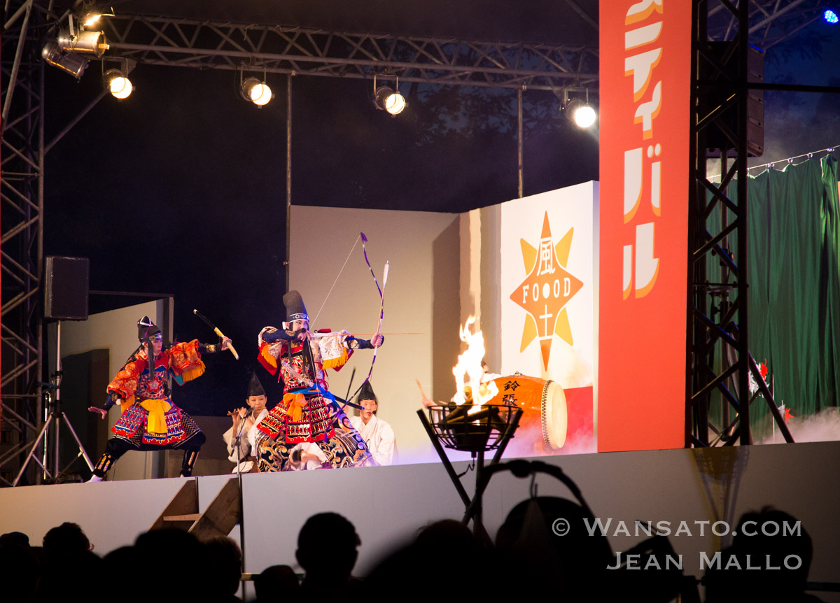Japon - Pièce De Théâtre Durant Le Food Festival
