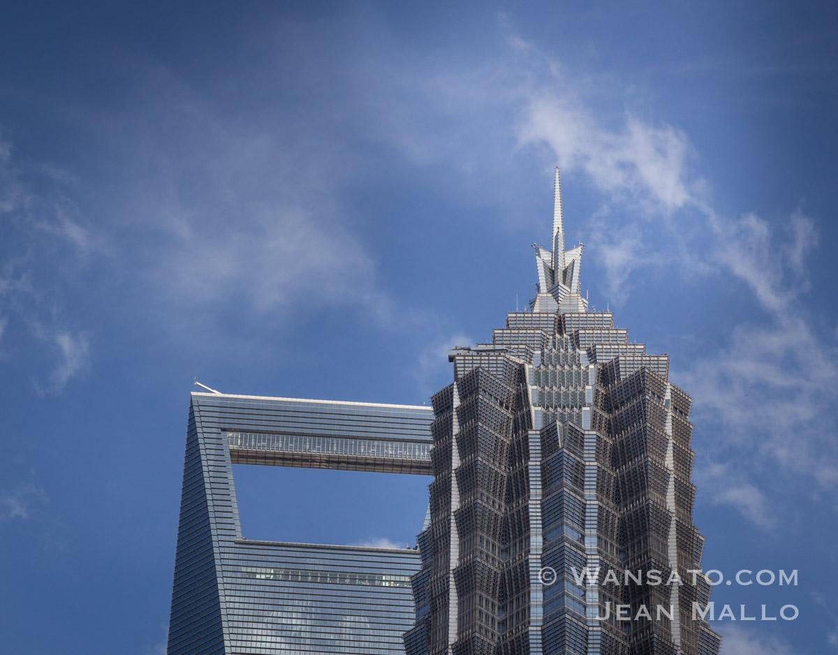 Chine - Au Sommet Des Tours De Shanghai
