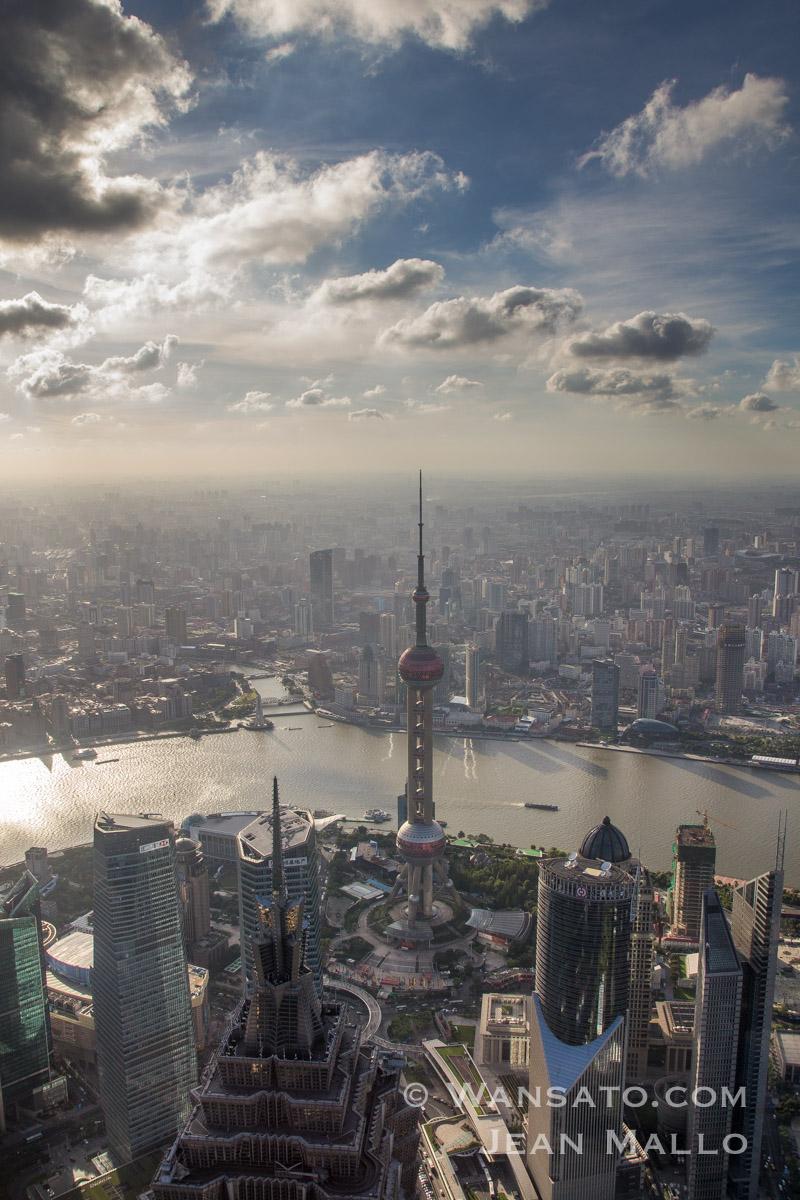 Chine - Vue Sur Shanghai
