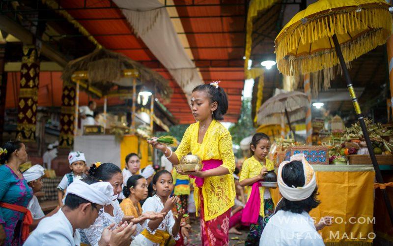 Le Festival Saraswati à Bali