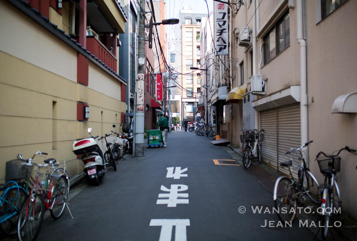 Japon - Une Rue Quelconque à Tokyo