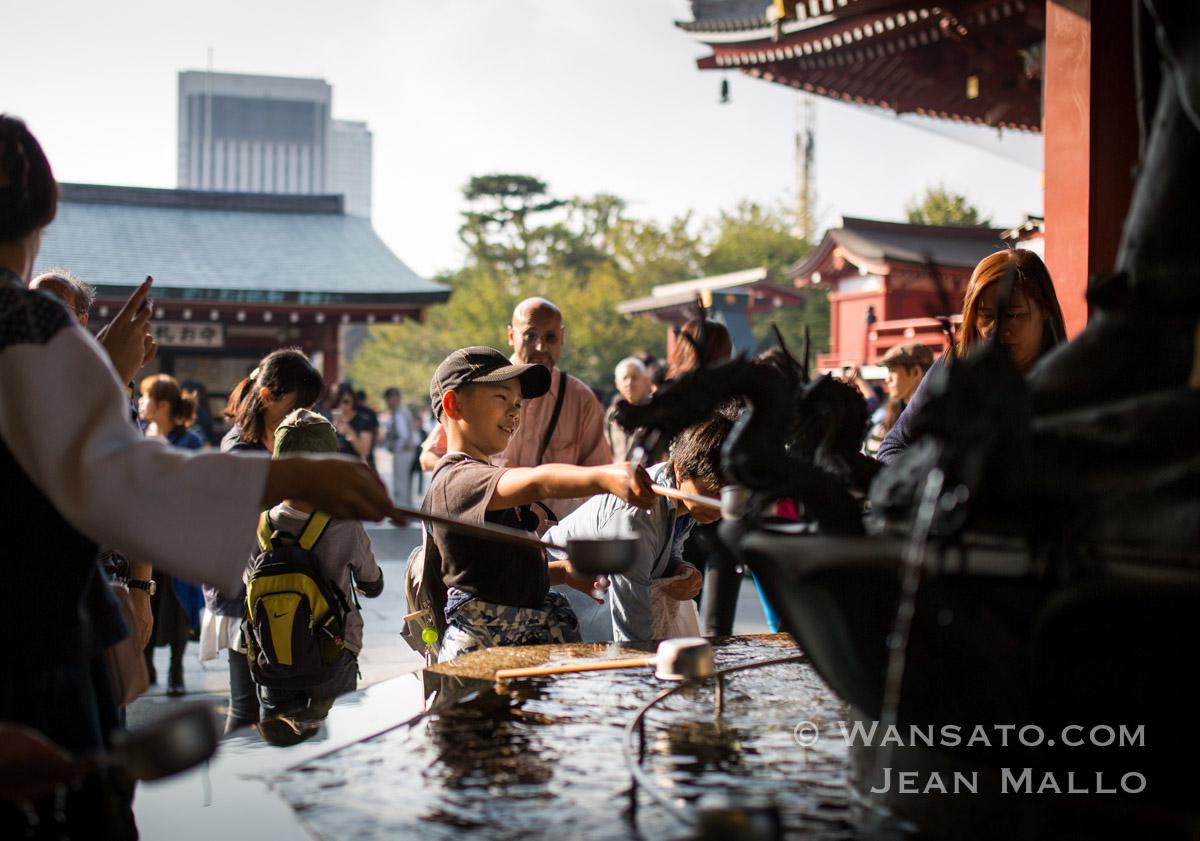 Japon - Le Temple Senso-ji à Tokyo