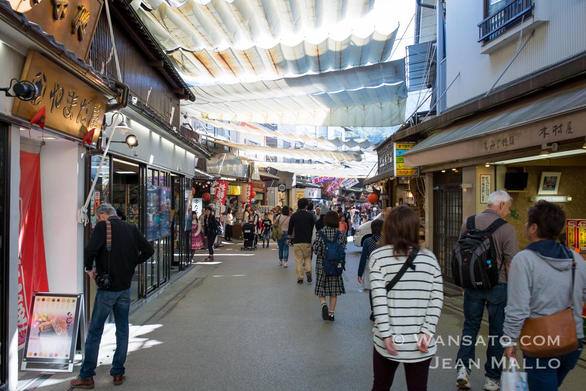 Japon - La Rue Omotesando à Miyajima