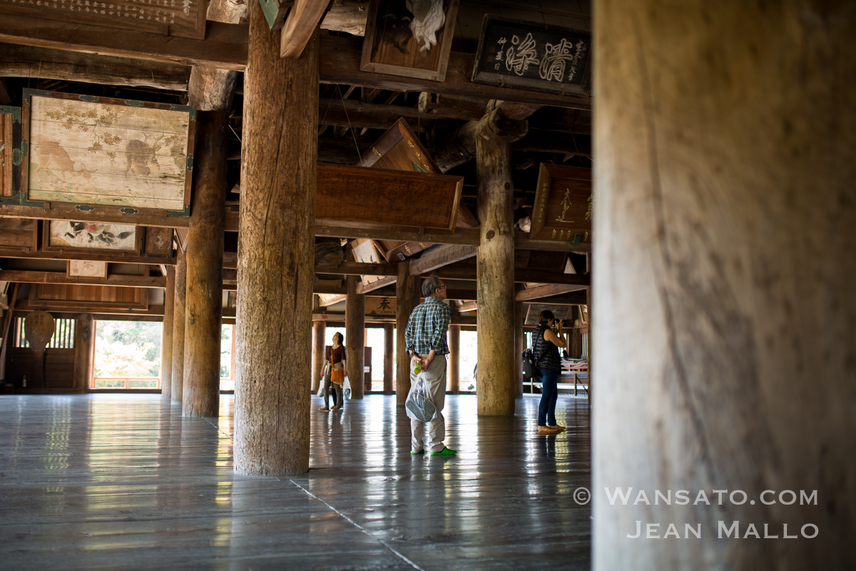 Japon - Le Temple Senjokaku à Miyajima