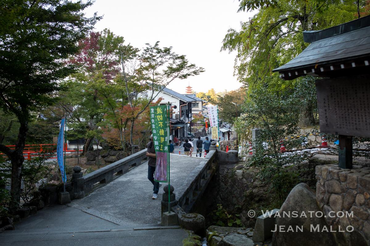 Japon - La Petite Ville De Miyajimacho à Miyajima